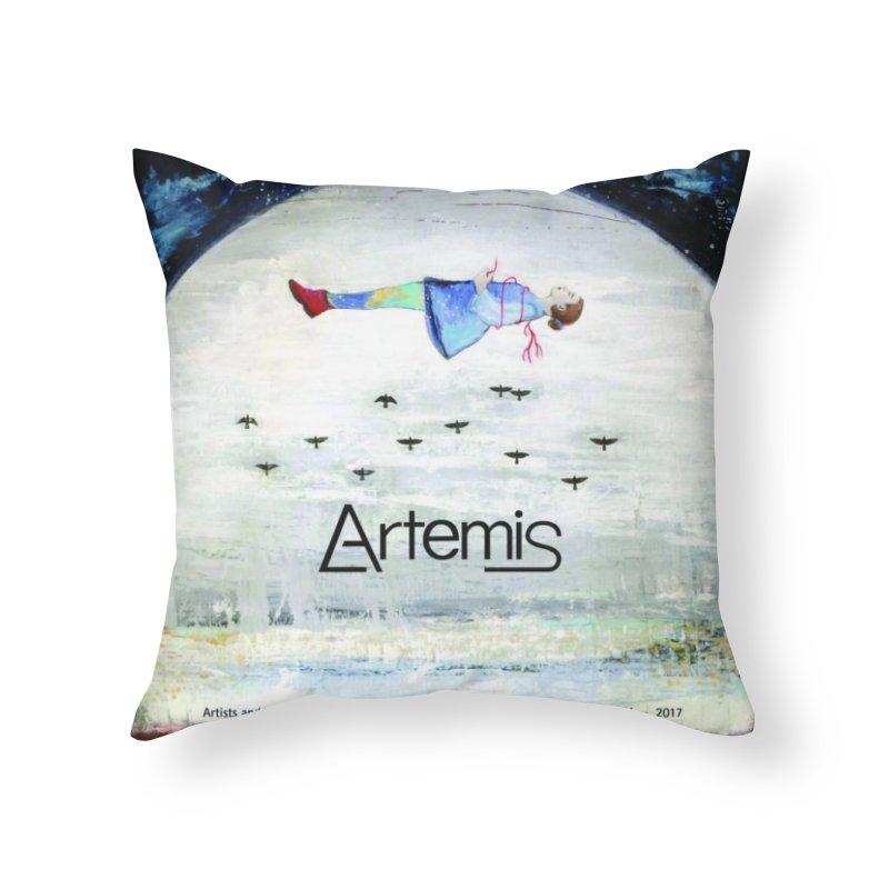 2017 ARTEMIS COVER ART Home Throw Pillow by Artemis Journal's Artist Shop