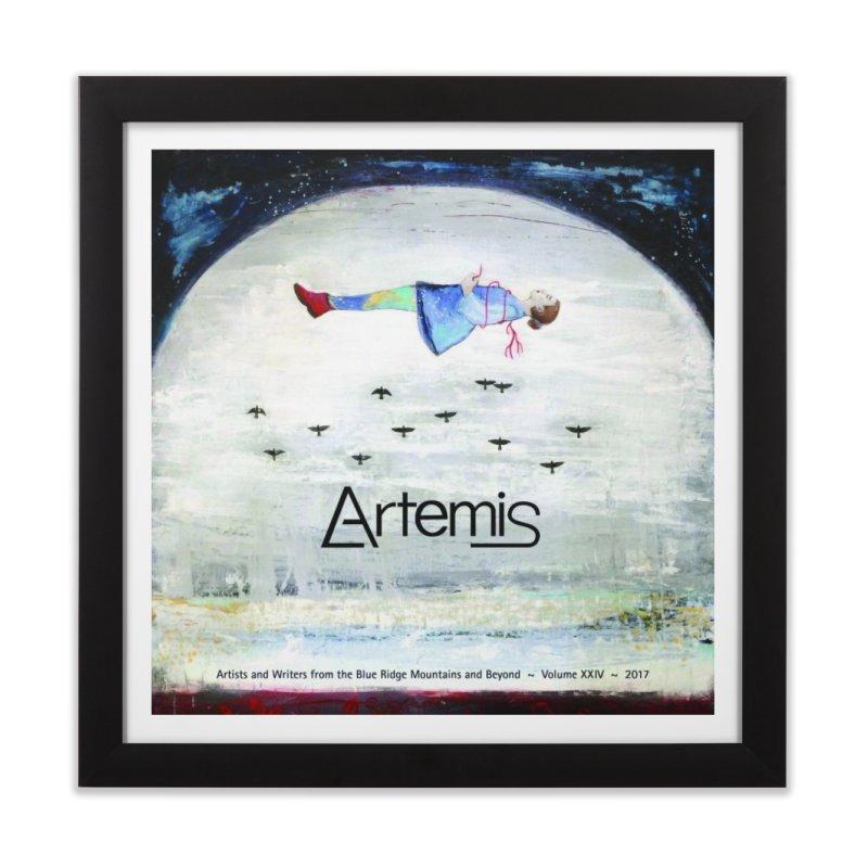2017 ARTEMIS COVER ART Home Framed Fine Art Print by Artemis Journal's Artist Shop