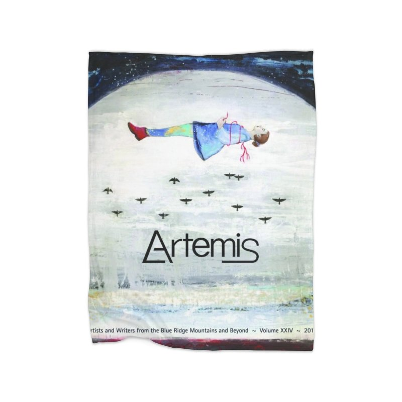 2017 ARTEMIS COVER ART Home Blanket by Artemis Journal's Artist Shop