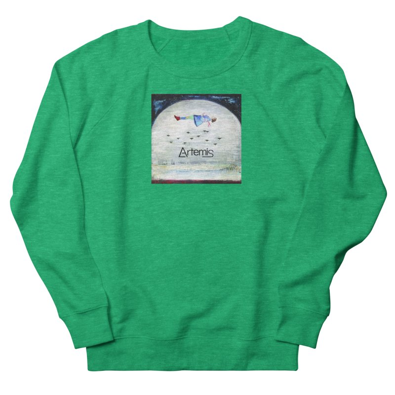 To The Realm Of The Stars by Tricia Scott [with ARTEMIS LOGO] Women's Sweatshirt by Artemis Journal's Artist Shop