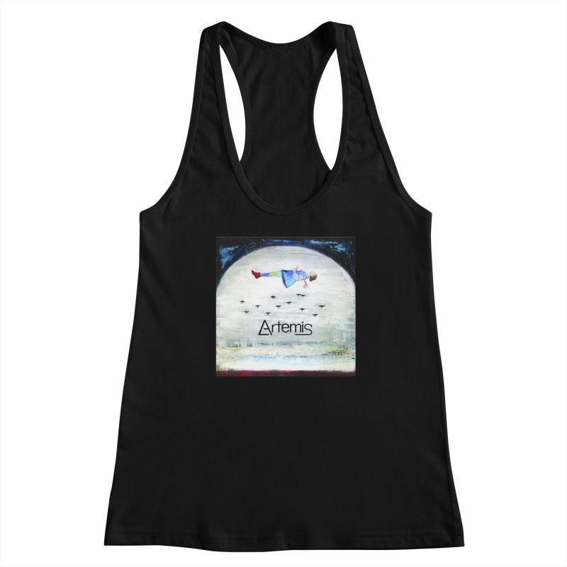 To The Realm Of The Stars by Tricia Scott [with ARTEMIS LOGO] Women's Tank by Artemis Journal's Artist Shop
