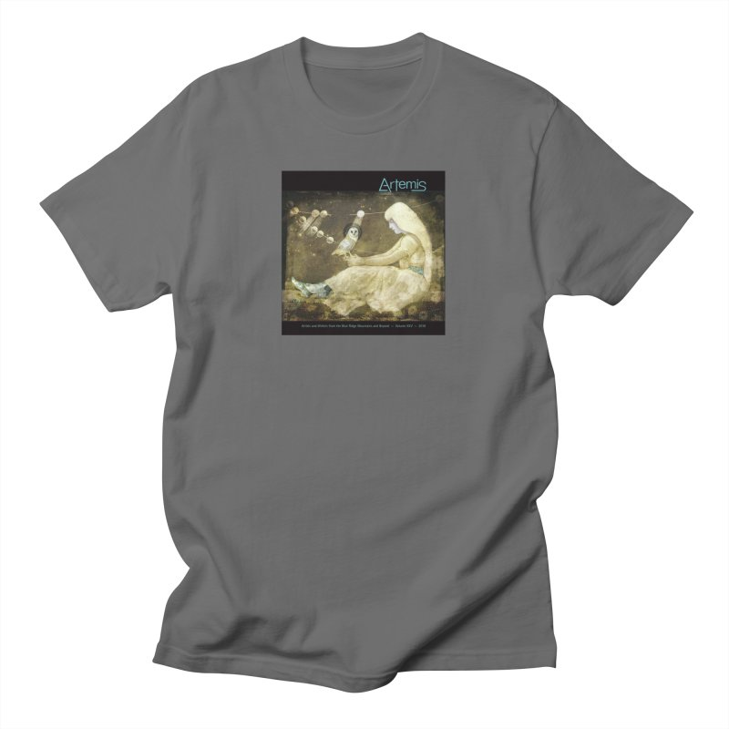 The Owl of Good Fortune by Tricia Scott Men's T-Shirt by Artemis Journal's Artist Shop