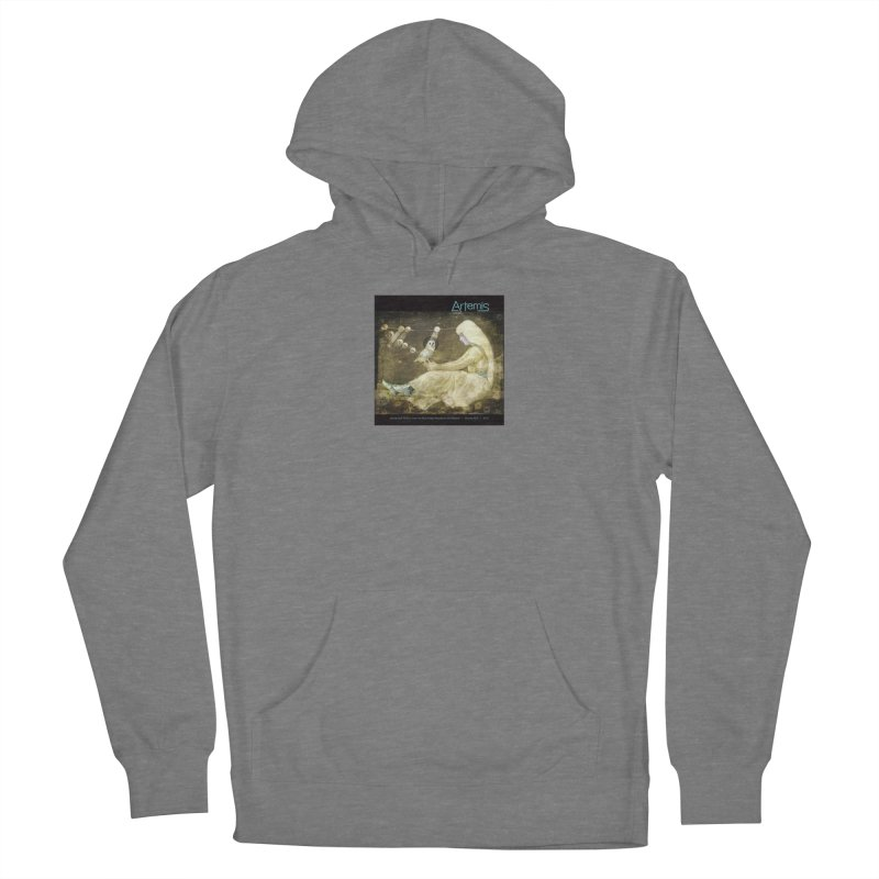 The Owl of Good Fortune by Tricia Scott Women's Pullover Hoody by Artemis Journal's Artist Shop