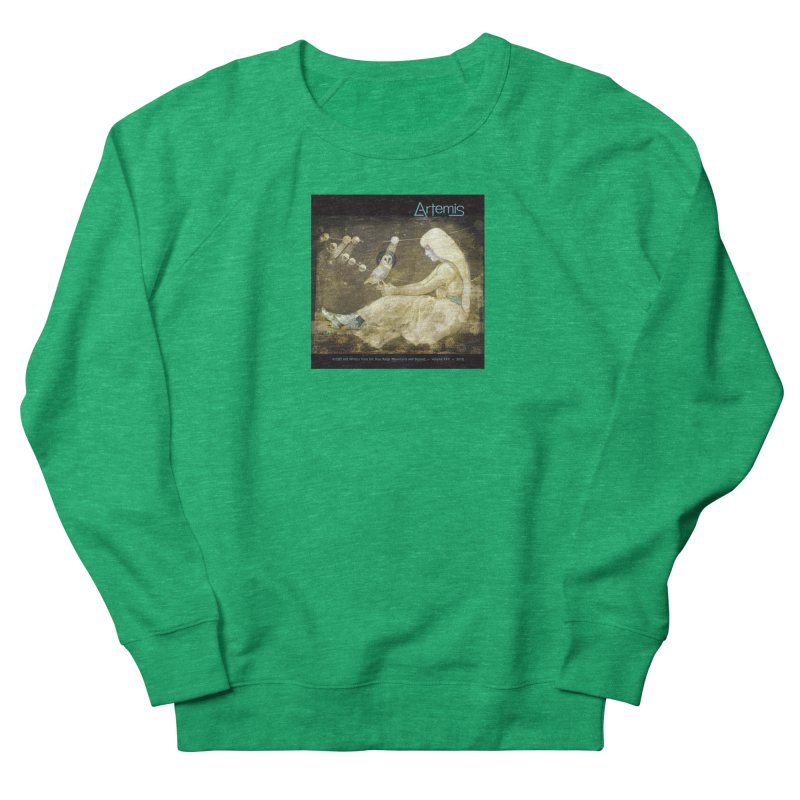 The Owl of Good Fortune by Tricia Scott Women's Sweatshirt by Artemis Journal's Artist Shop