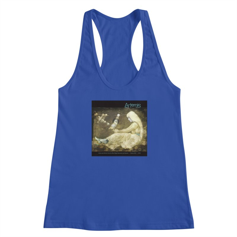 The Owl of Good Fortune by Tricia Scott Women's Tank by Artemis Journal's Artist Shop