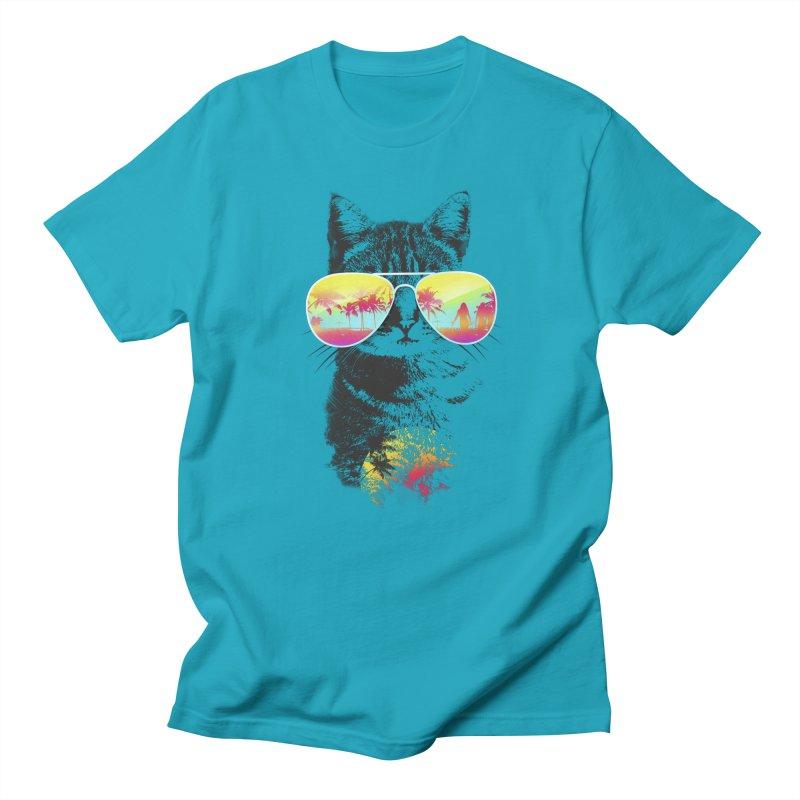 Cat Breeze Men's T-shirt by Artemple Shop