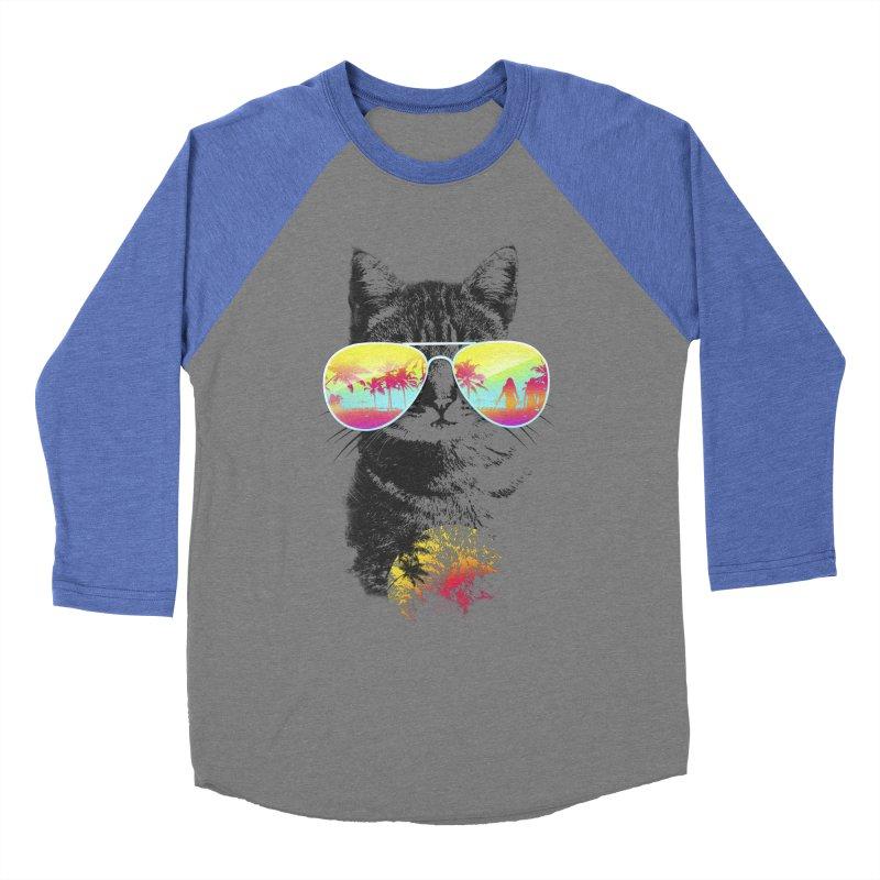 Cat Breeze Men's Baseball Triblend T-Shirt by Artemple Shop