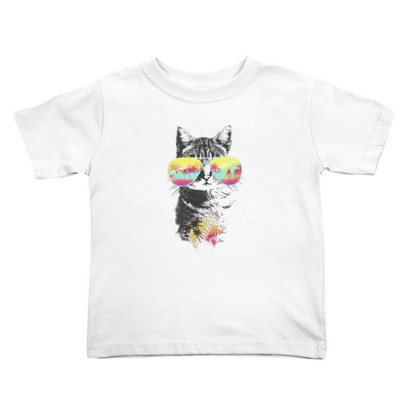 Cat Breeze Kids Toddler T-Shirt by Artemple Shop
