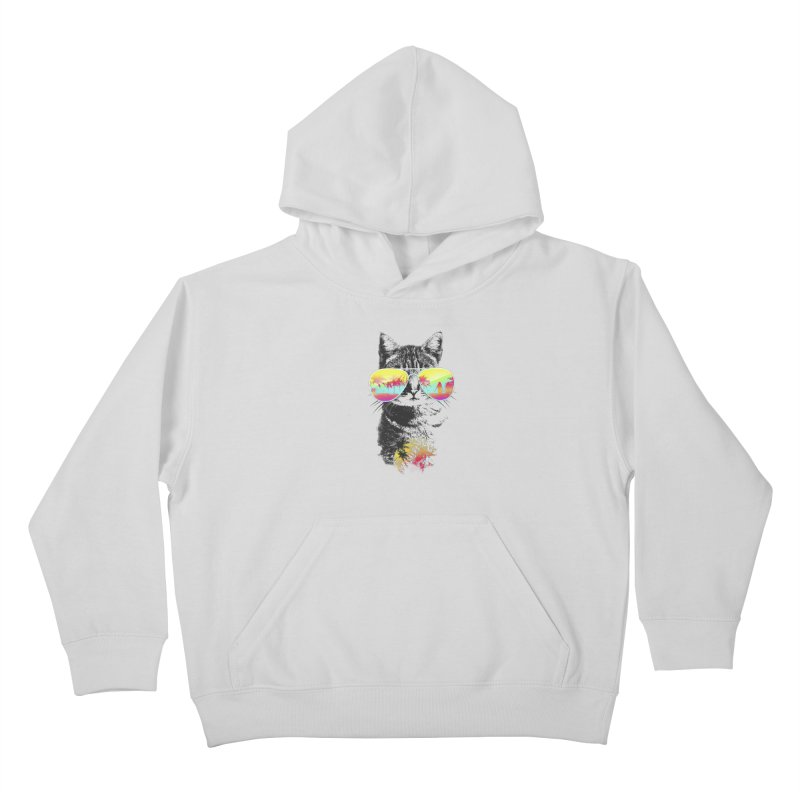 Cat Breeze Kids Pullover Hoody by Artemple Shop