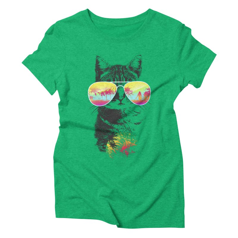 Cat Breeze Women's Triblend T-Shirt by Artemple Shop