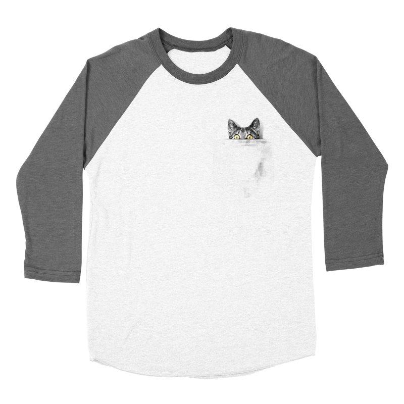 I've got a cat in my pocket Women's Baseball Triblend T-Shirt by Artemple Shop