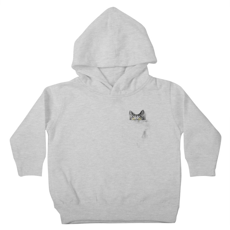 I've got a cat in my pocket Kids Toddler Pullover Hoody by Artemple Shop