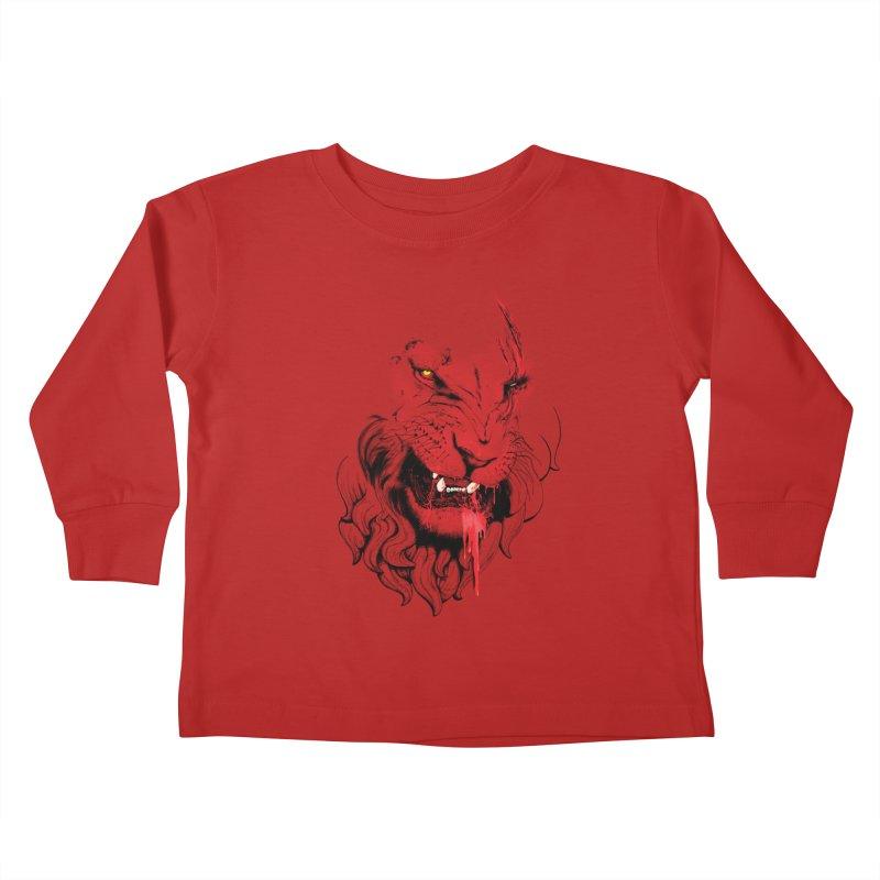 Goliath Kids Toddler Longsleeve T-Shirt by Artemple Shop