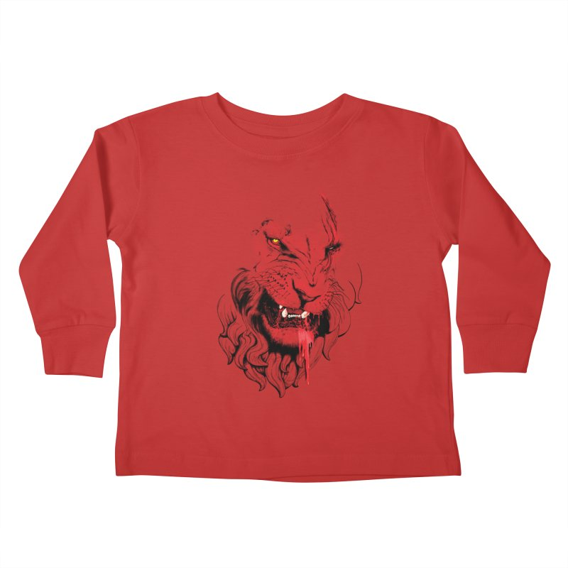 Goliath Kids Toddler Longsleeve T-Shirt by Artemple Shop