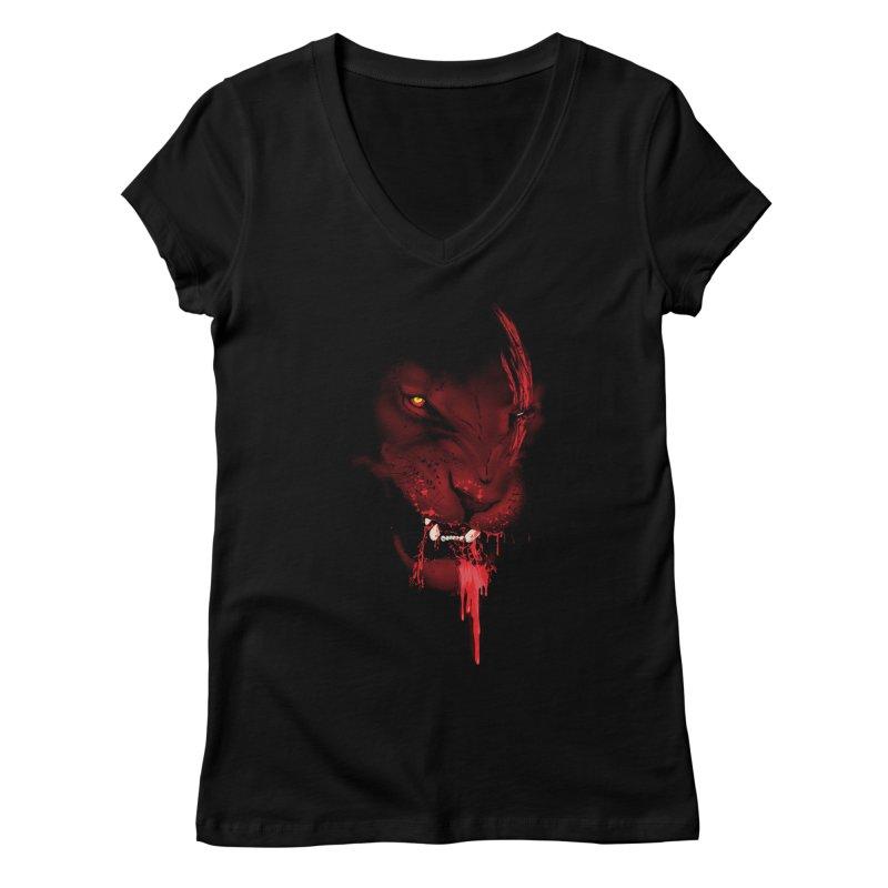 Goliath Women's V-Neck by Artemple Shop
