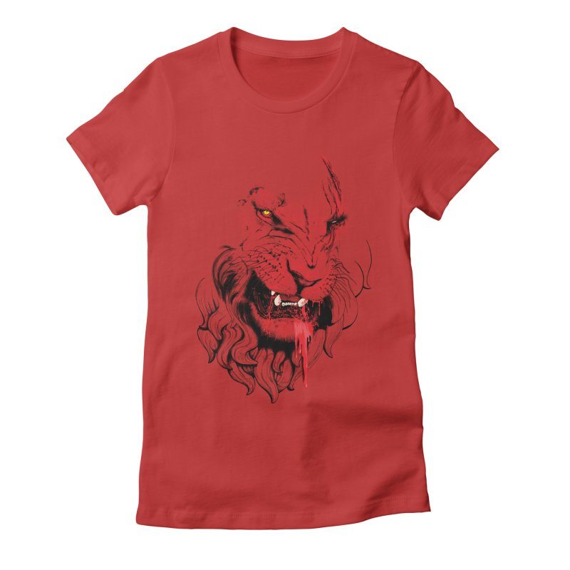 Goliath Women's Fitted T-Shirt by Artemple Shop