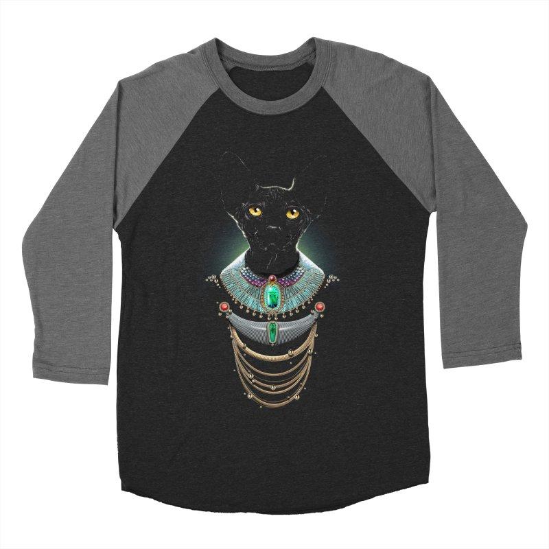 Sphynx Cat : Animaluxury 01 Men's Baseball Triblend T-Shirt by Artemple Shop
