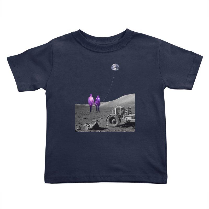 Moonwalk Kids Toddler T-Shirt by Artemple Shop