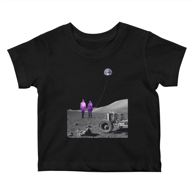 Moonwalk Kids Baby T-Shirt by Artemple Shop