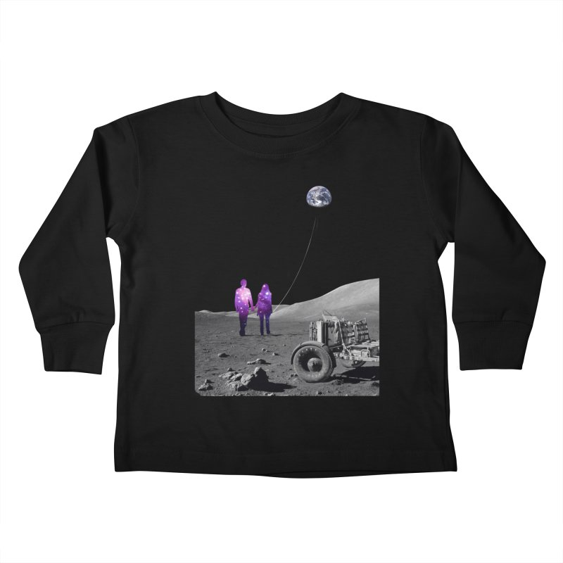Moonwalk Kids Toddler Longsleeve T-Shirt by Artemple Shop