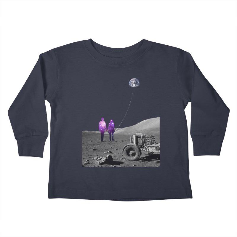 Moonwalk Kids Toddler Longsleeve T-Shirt by Artemple Shop