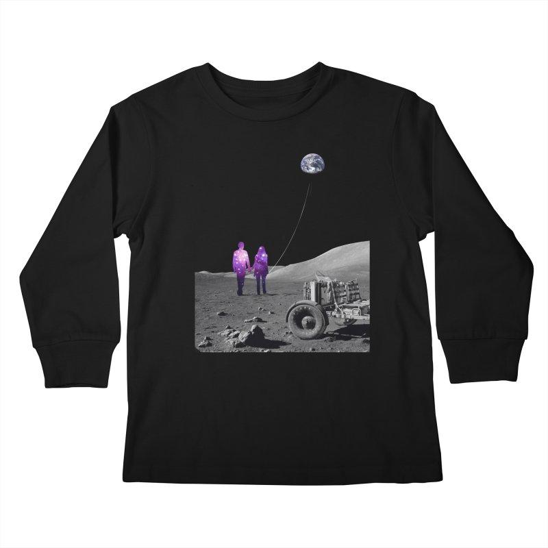 Moonwalk Kids Longsleeve T-Shirt by Artemple Shop