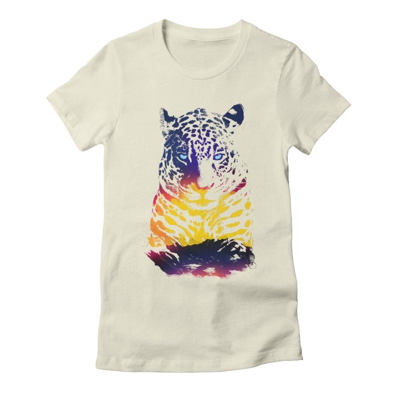 Savana Women's Fitted T-Shirt by Artemple Shop
