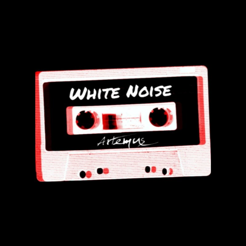 White Noise Accessories Sticker by The Official Online Shop for Artemus