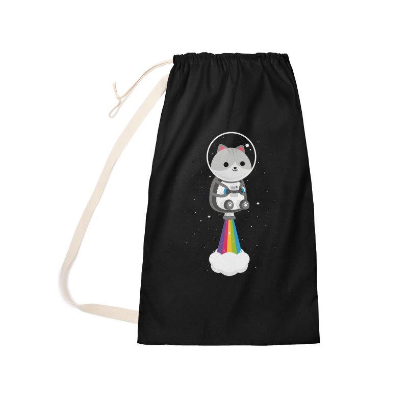 Space Cat Accessories Bag by May's Studio
