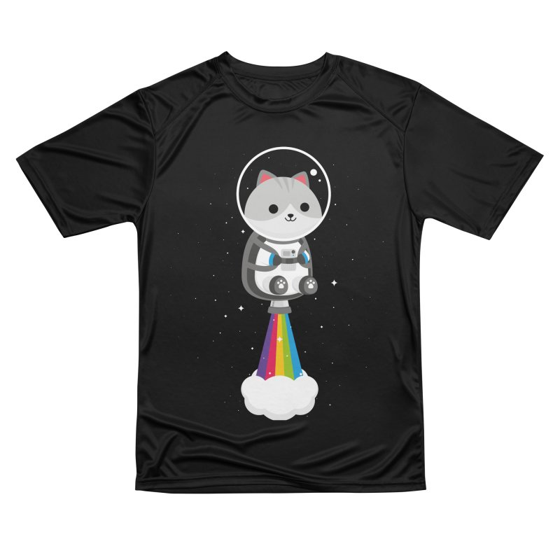 Space Cat Men's T-Shirt by May's Studio