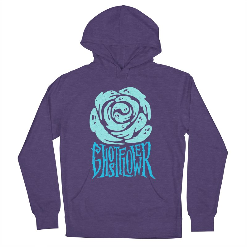 GhostFlower Women's French Terry Pullover Hoody by artfanat.shop