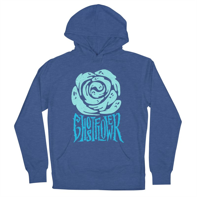 GhostFlower Men's French Terry Pullover Hoody by artfanat.shop