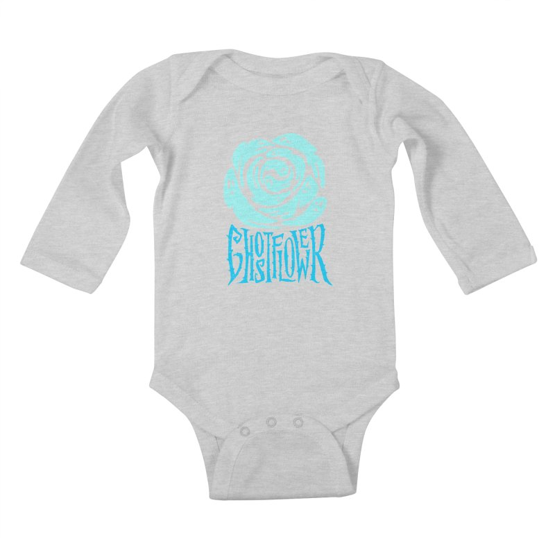 GhostFlower Kids Baby Longsleeve Bodysuit by artfanat.shop