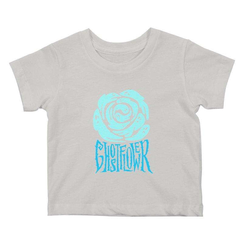 GhostFlower Kids Baby T-Shirt by artfanat.shop