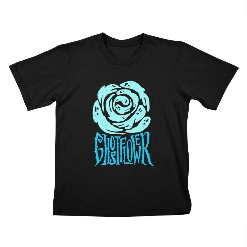 GhostFlower Kids T-Shirt by artfanat.shop