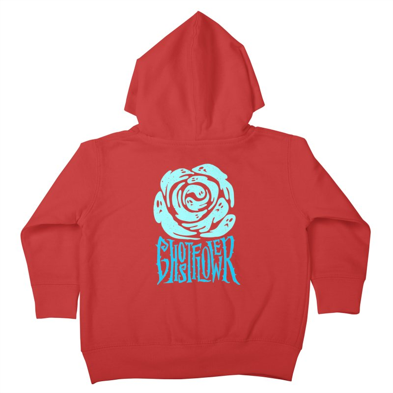 GhostFlower Kids Toddler Zip-Up Hoody by artfanat.shop