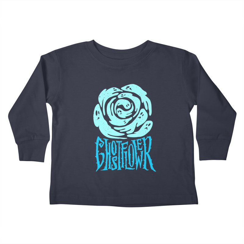 GhostFlower Kids Toddler Longsleeve T-Shirt by artfanat.shop