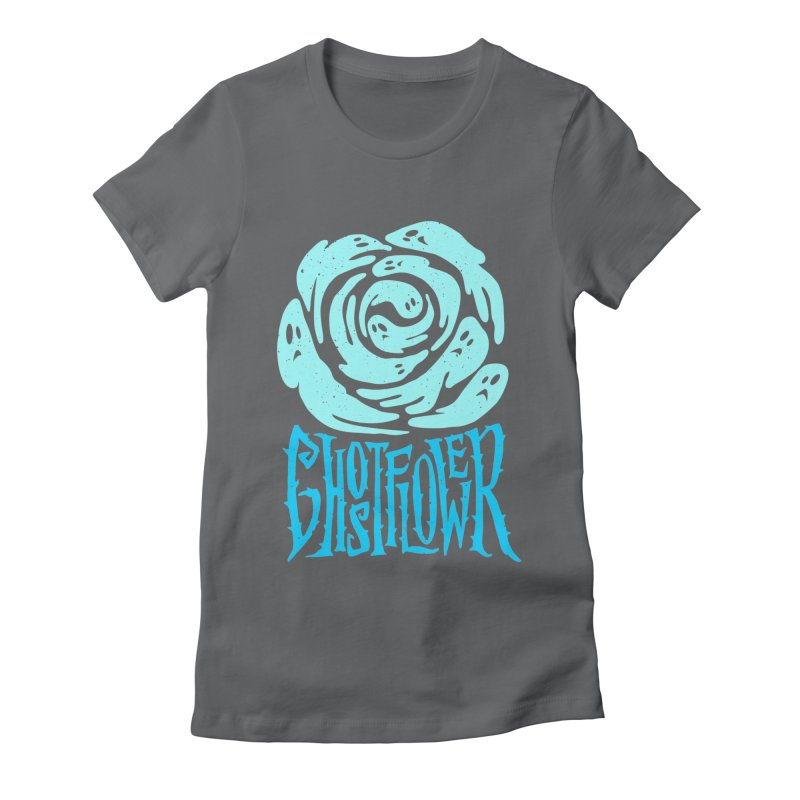 GhostFlower Women's Fitted T-Shirt by artfanat.shop