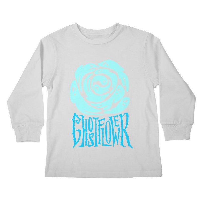 GhostFlower Kids Longsleeve T-Shirt by artfanat.shop