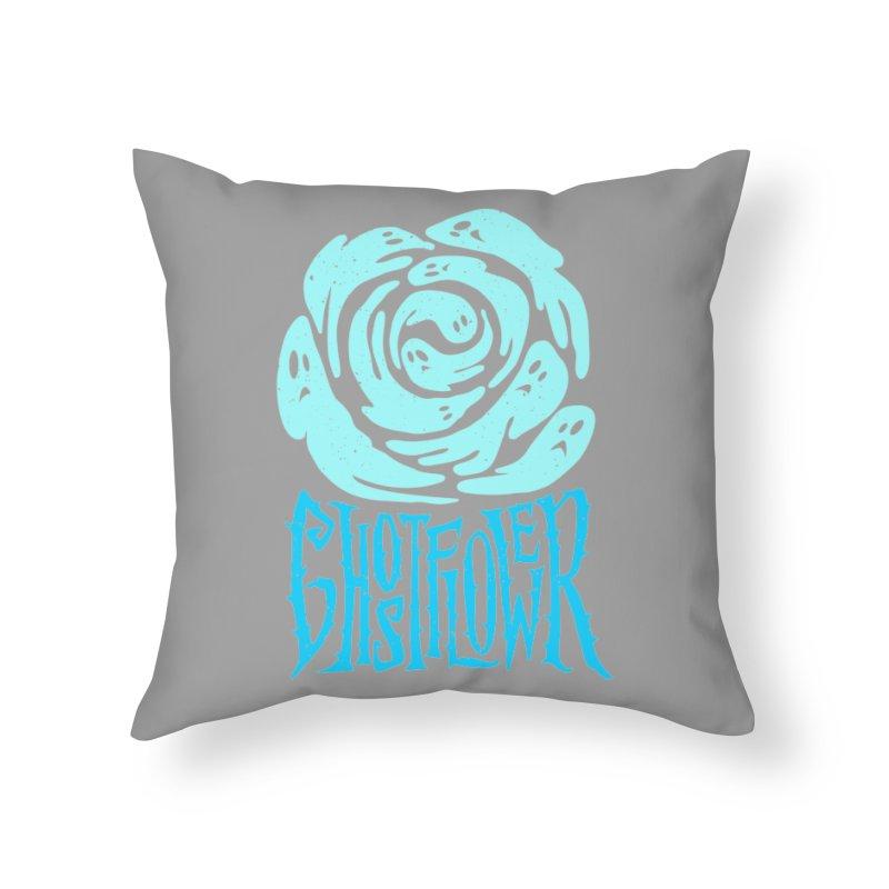 GhostFlower Home Throw Pillow by artfanat.shop