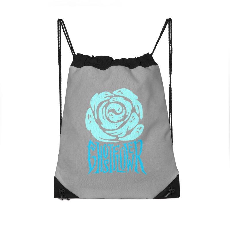 GhostFlower Accessories Drawstring Bag Bag by artfanat.shop