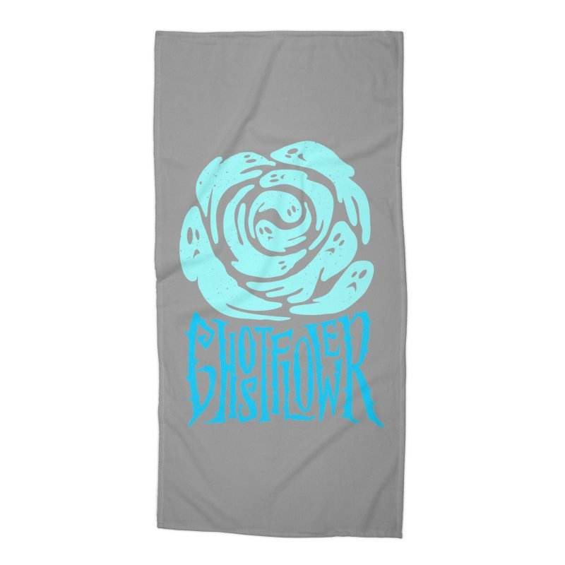 GhostFlower Accessories Beach Towel by artfanat.shop