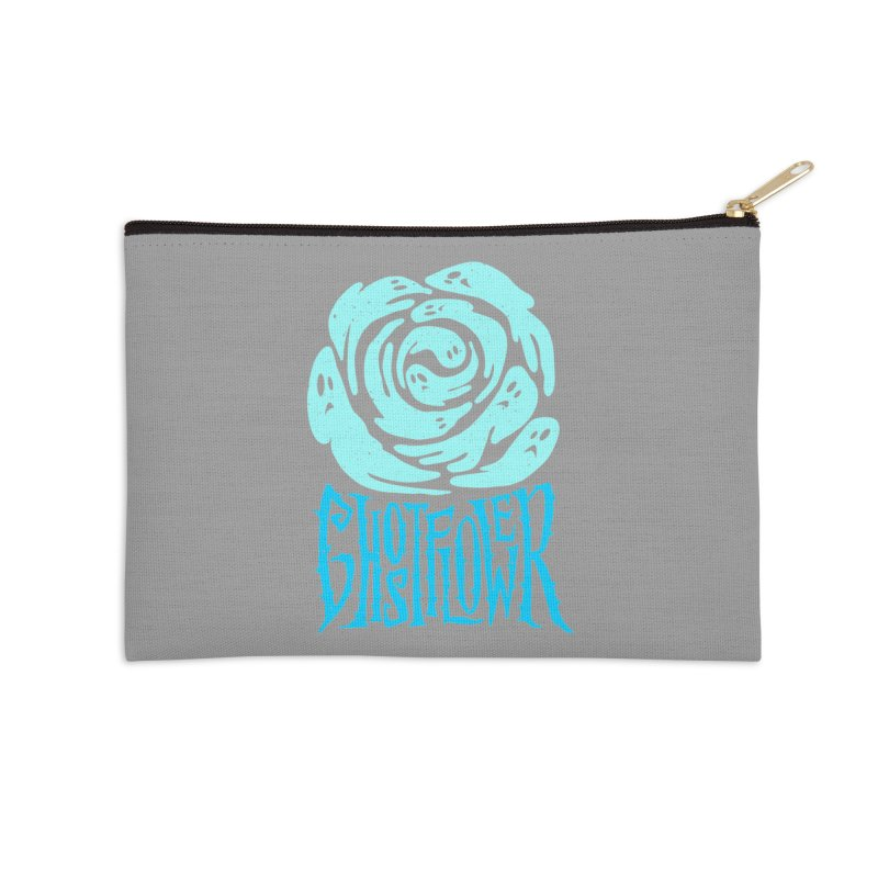 GhostFlower Accessories Zip Pouch by artfanat.shop