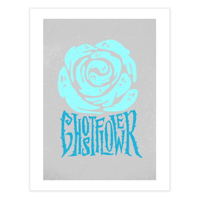 GhostFlower Home Fine Art Print by artfanat.shop