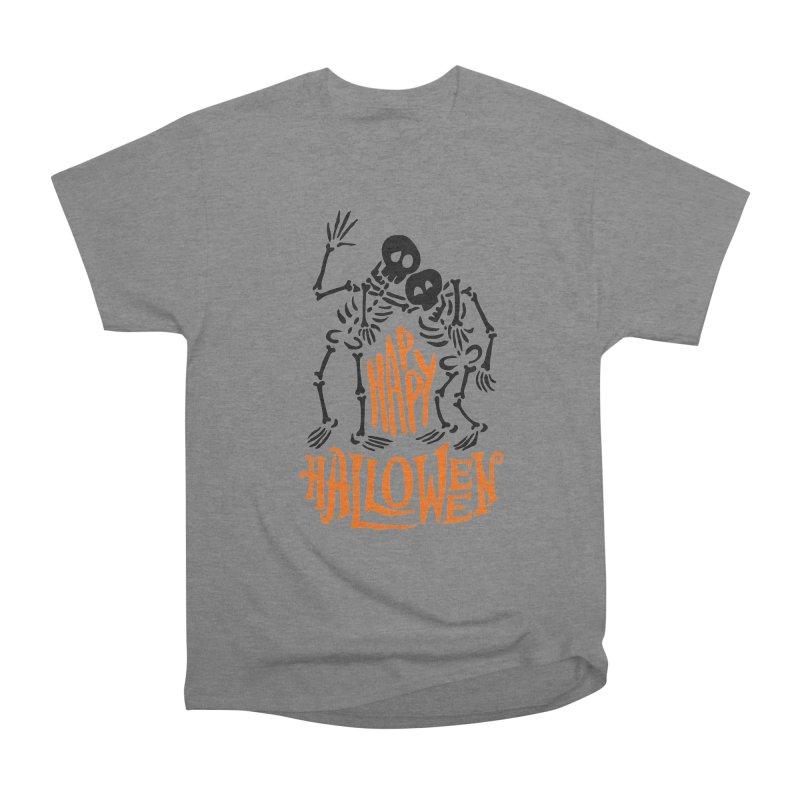 skeletons brothers  Women's Heavyweight Unisex T-Shirt by artfanat.shop