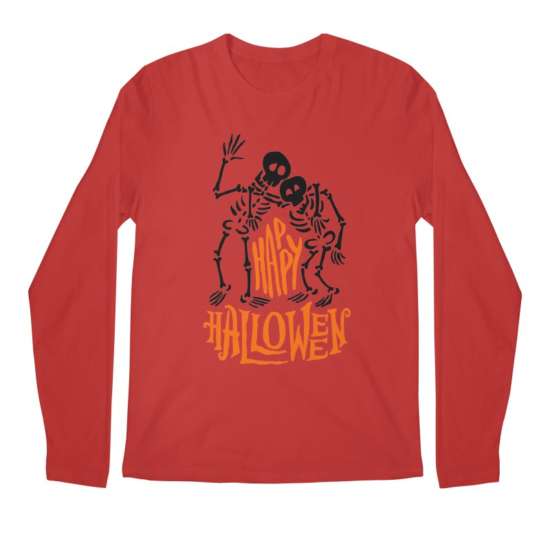 skeletons brothers  Men's Regular Longsleeve T-Shirt by artfanat.shop