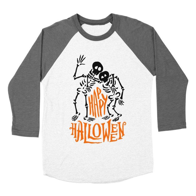 skeletons brothers  Men's Baseball Triblend Longsleeve T-Shirt by artfanat.shop