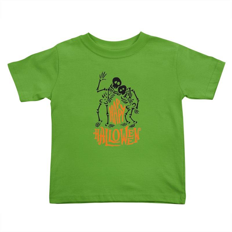 skeletons brothers  Kids Toddler T-Shirt by artfanat.shop