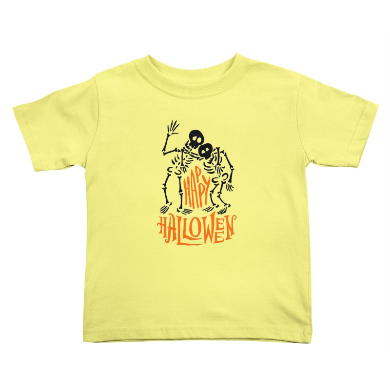 skeletons brothers  Kids Toddler T-Shirt by artfanat.shop