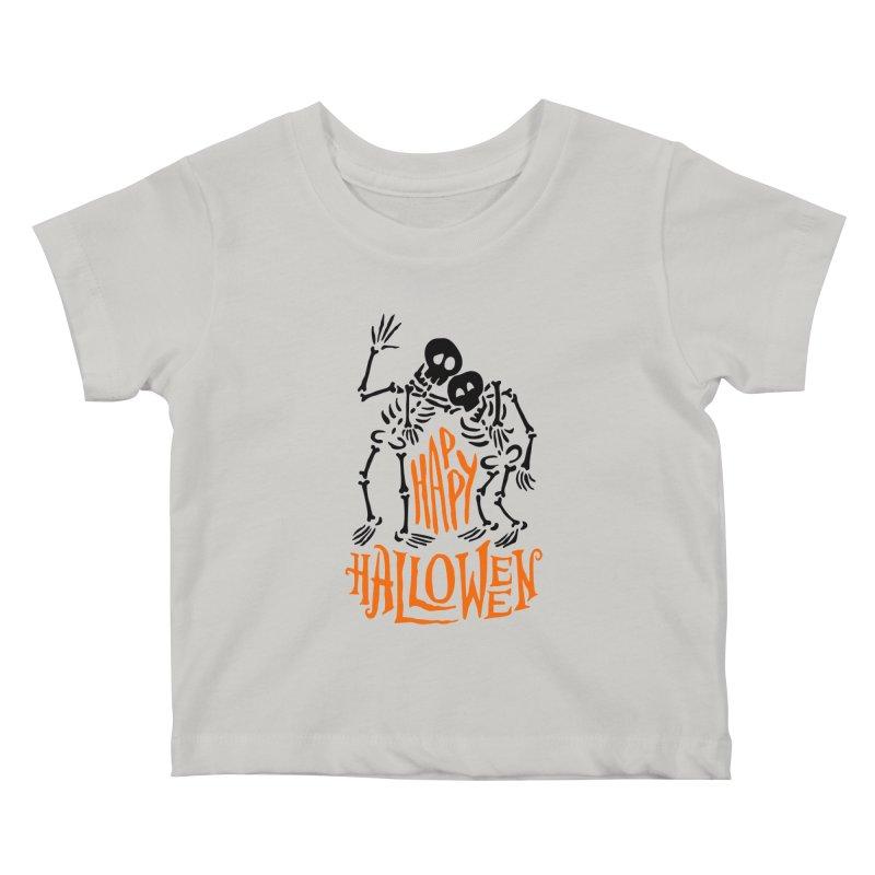 skeletons brothers  Kids Baby T-Shirt by artfanat.shop